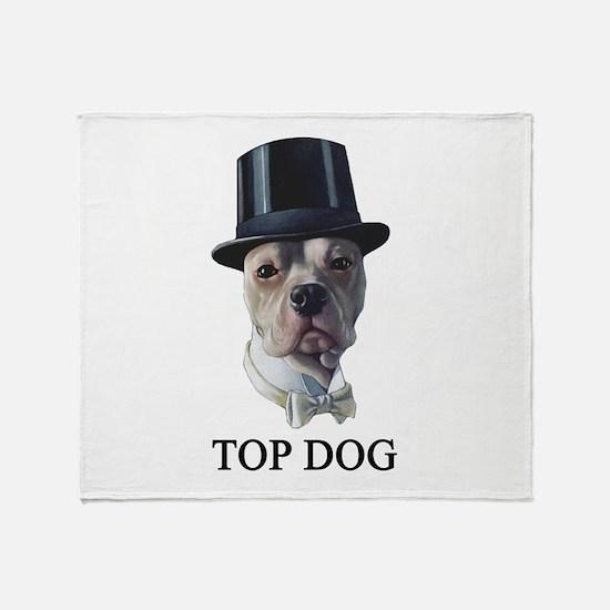 Top Dog Throw Blanket