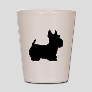 SCOTTY DOG Shot Glass