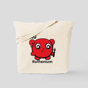 Cute Element Ruthenium Ru Tote Bag