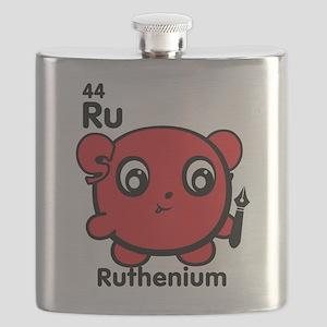 Cute Element Ruthenium Ru Flask