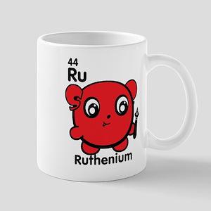 Cute Element Ruthenium Ru Mugs