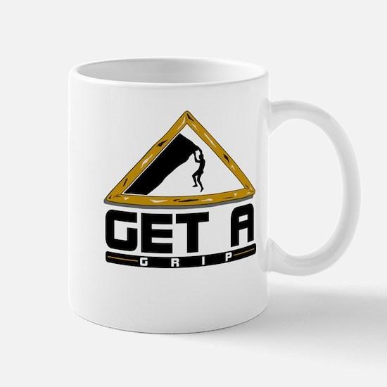 Get a Grip Rock Climbing Mug
