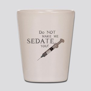 Sedation Shot Glass