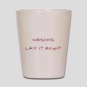 Masons... Shot Glass
