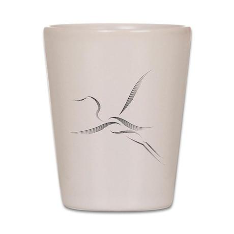 The Egret Shot Glass