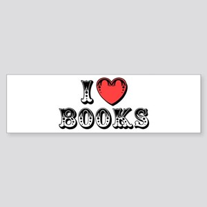 I Love Books Bumper Sticker