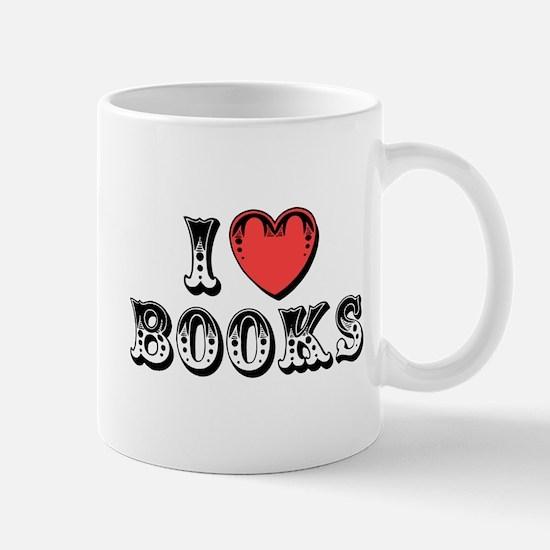 I Love Books Mug