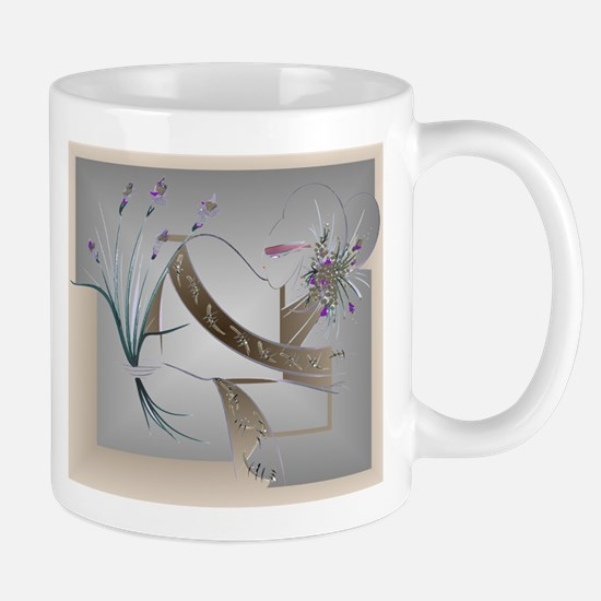 Flower Song Antique Mug