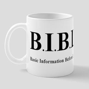 B.I.B.L.E. Mug