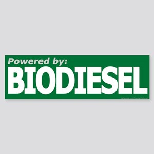 BIODIESELpowered Bumper Sticker