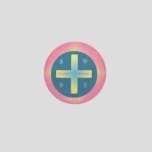 Christos Anesti Mini Button