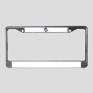 Girls Bowl License Plate Frame