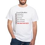 Coach's Checklist White T-Shirt