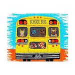 School Bus Small Puzzle