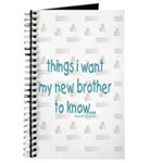 Things I want the new baby to know Journal