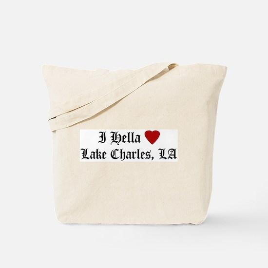 Hella Love Lake Charles Tote Bag