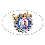 South Bay logo Oval Sticker
