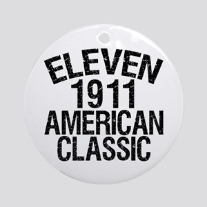 1911, 100th Birthday Ornament (Round)
