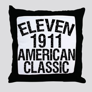 1911, 100th Birthday Throw Pillow