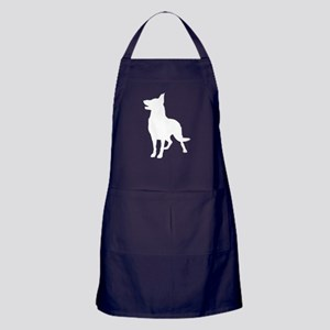 German Shepherd Silhouette Apron (dark)