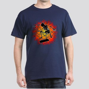 skeleton kickflip Dark T-Shirt