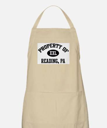 Property of Reading BBQ Apron
