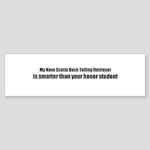 My Nova Scotia Duck Tolling R Bumper Sticker