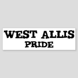 West Allis Pride Bumper Sticker