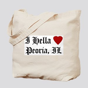 Hella Love Peoria Tote Bag
