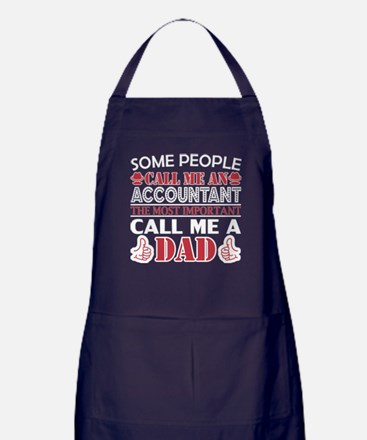 Some People Accountant Most Important Apron (dark)