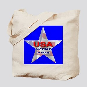 USA Victory In Iraq Tote Bag