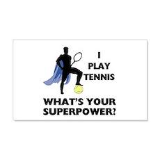 Tennis Superpower Wall Sticker