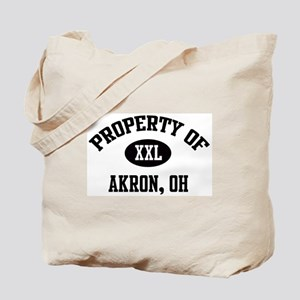 Property of Akron Tote Bag
