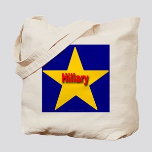 Hillary Star Tote Bag