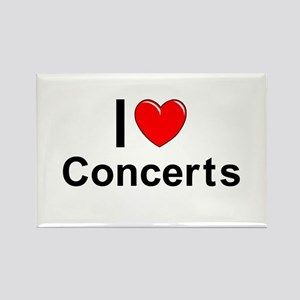 Concerts Rectangle Magnet