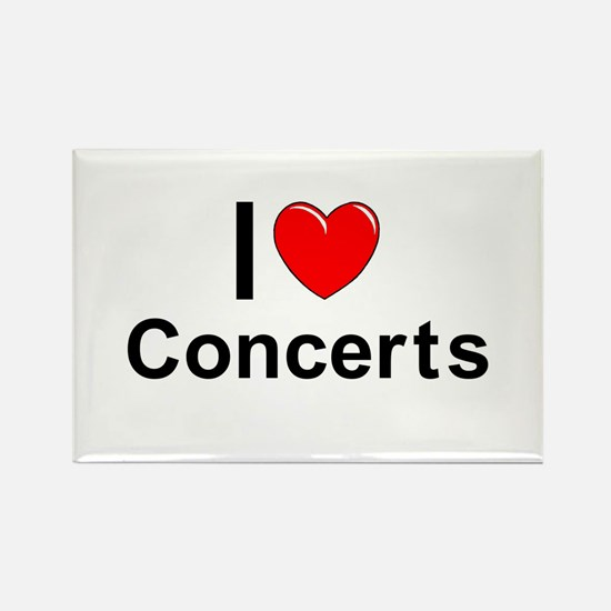 Concerts Rectangle Magnet