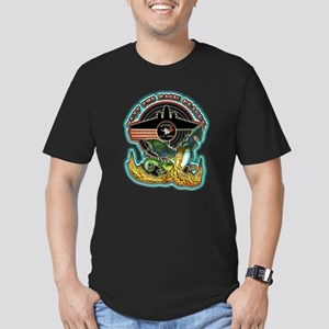 USAF AC-47 Spooky Men's Fitted T-Shirt (dark)