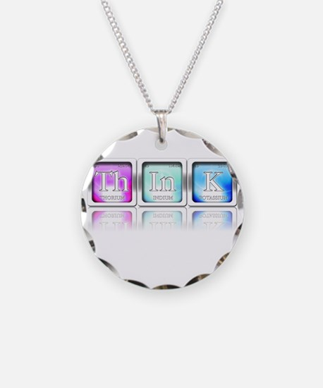 Cute Geeky Necklace Circle Charm