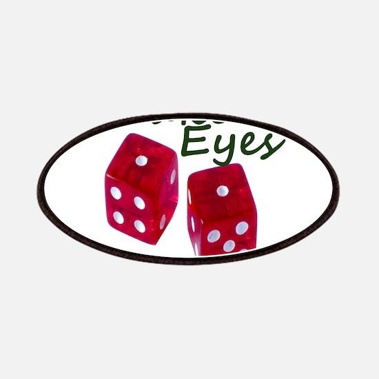 Gambling Snake Eyes Dice Patches
