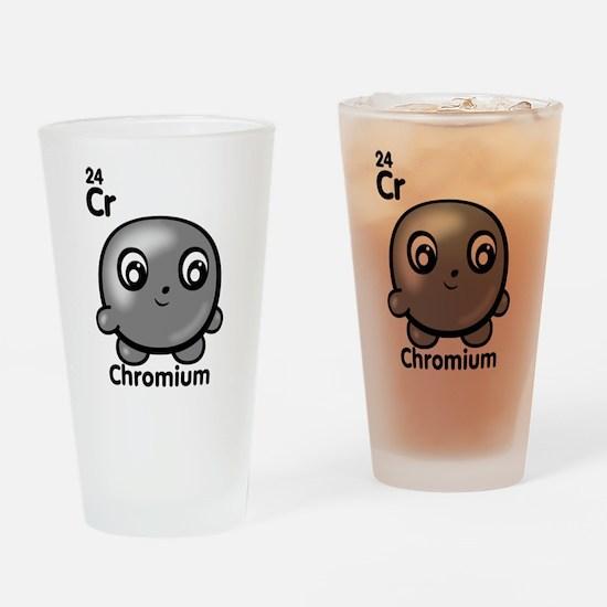 Cute Element Chromium Cr Drinking Glass