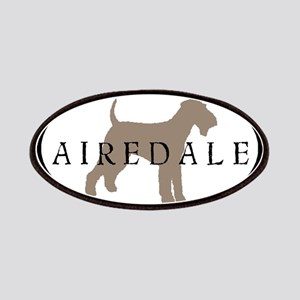 Airedale Terrier Oval #2 Patches