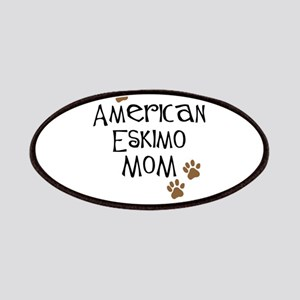 American Eskimo Mom Patches