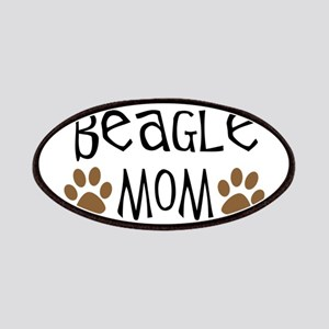Beagle Mom Oval Patches