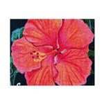 Red Hibiscus Small Puzzle