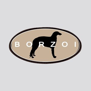 Borzoi Dog Breed Patches