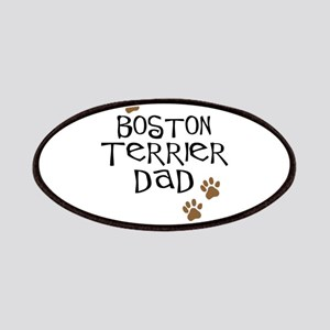Boston Terrier Dad Patches
