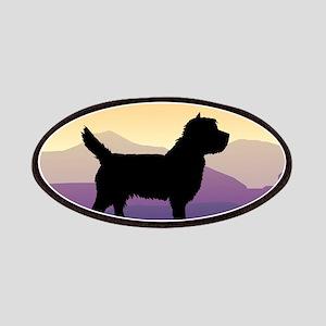 Cairn Terrier Purple Mt. Patches