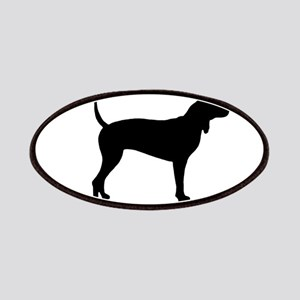 Coonhound Oval Patches