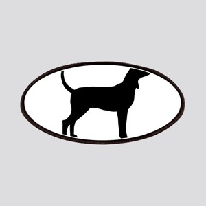 Coonhound #2 Oval Patches