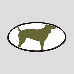 Olive Coonhound Patches